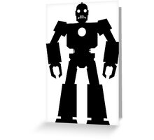 Giant  Robot Greeting Card