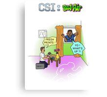 CSI : Bel Air Canvas Print