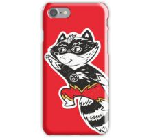 Super Raccoon iPhone Case/Skin