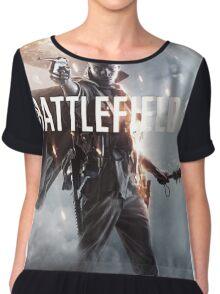 Battlefield One ! Chiffon Top