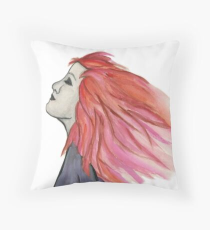 Mia Swier/Von Glitz Watercolour Throw Pillow