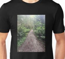 Forest Hiking Path Unisex T-Shirt