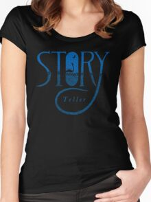 Story Teller Women's Fitted Scoop T-Shirt