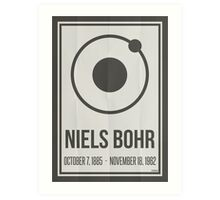 Niels Bohr Art Print