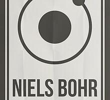 Niels Bohr by Hydrogene