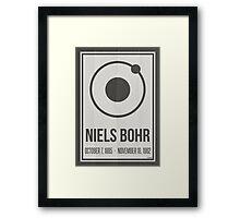 Niels Bohr Framed Print
