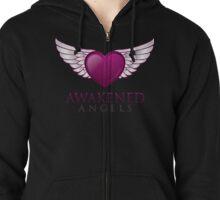Awakened Angels  Zipped Hoodie
