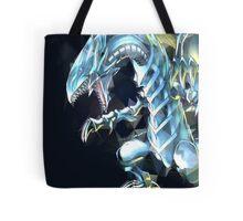 Blue Eyes White Dragon Tote Bag