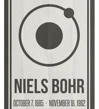 Niels Bohr Sticker