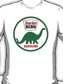 Sinclair Dino Gasoline sign. Clean version T-Shirt