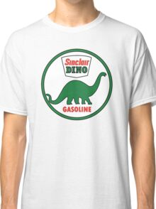 Sinclair Dino Gasoline sign. Clean version Classic T-Shirt