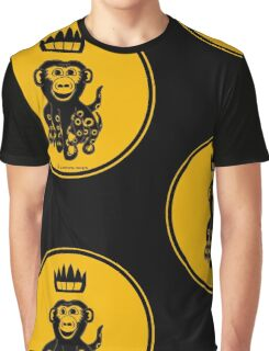 Octochimp - single colour Graphic T-Shirt