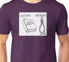 Good News (Bible)- Bad Noose(Hangman's noose) Unisex T-Shirt