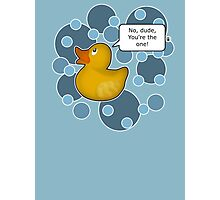 ♥ Rubber Ducky ♥ Photographic Print