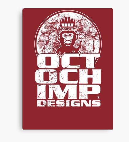 Octochimp Designs Canvas Print