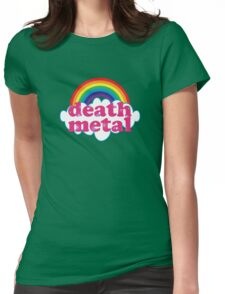 Death Metal Rainbow (Original) Womens Fitted T-Shirt