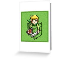 Pocket Link Legend of Zelda T-shirt Greeting Card