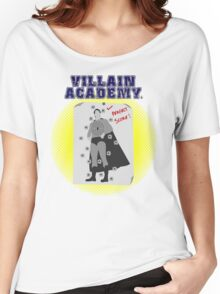 Villain Academy Women's Relaxed Fit T-Shirt