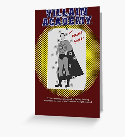 Villain Academy Greeting Card