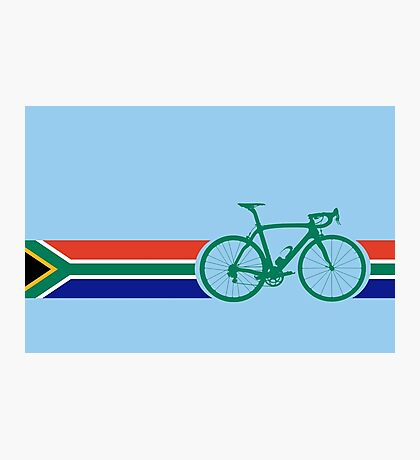 Bike Stripes South Africa Photographic Print