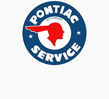 Pontiac Authorized Service vintage sign reproduction Unisex T-Shirt