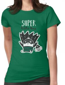 Super Penguin Womens Fitted T-Shirt
