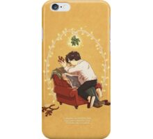 Boring Xmas and Dull New Year iPhone Case/Skin