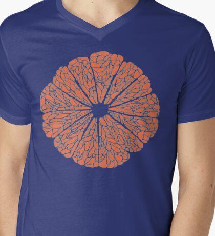 Grapefruit to Suit Mens V-Neck T-Shirt
