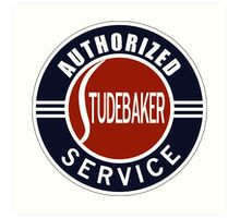 Authorized Studebaker Service vintage sign Art Print