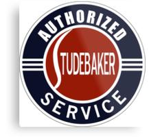 Authorized Studebaker Service vintage sign Metal Print