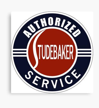 Authorized Studebaker Service vintage sign Canvas Print
