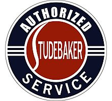 Authorized Studebaker Service vintage sign Photographic Print