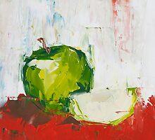 Vanishing Green Apple by ebuchmann