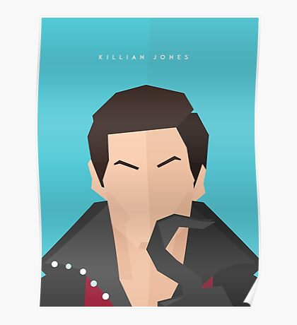 Killian 'Captain Hook' Jones Portrait Poster Poster