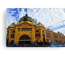 Flinders Street Station 1 Metal Print