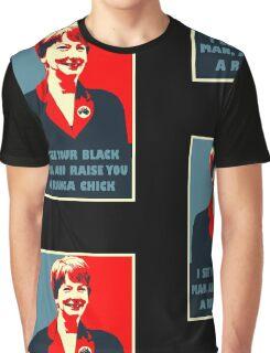 Prime Ministerial Propaganda Graphic T-Shirt