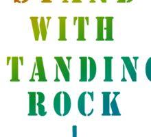 Rock Tee shirts, Standing Rock Sticker