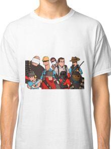 Team Fortress 2 - Cartoonified Team Design Classic T-Shirt