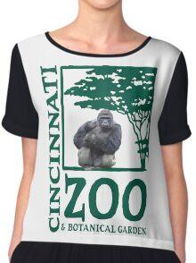 Cincinnati Zoo Chiffon Top