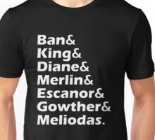 Ban King Merlin Cast of Anime Unisex T-Shirt