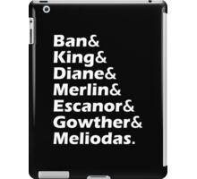 Ban King Merlin Cast of Anime iPad Case/Skin