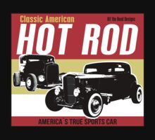 Hot Rod - Classic American Sports Car One Piece - Long Sleeve