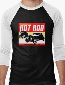 Hot Rod - Classic American Sports Car Men's Baseball ¾ T-Shirt