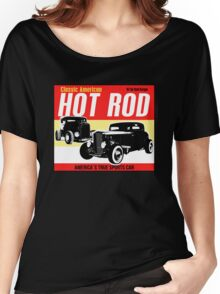 Hot Rod - Classic American Sports Car Women's Relaxed Fit T-Shirt