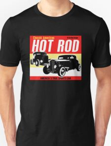 Hot Rod - Classic American Sports Car Unisex T-Shirt