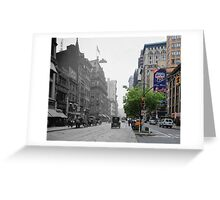 Historical Blend 3 Greeting Card