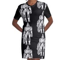 Prawn Soldier Graphic T-Shirt Dress