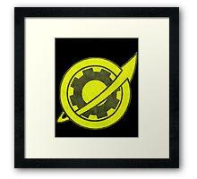 Future Gadget Lab Symbol Framed Print