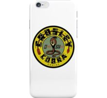 Crosley Cobra Engine vintage sign iPhone Case/Skin