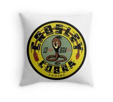 Crosley Cobra Engine vintage sign Throw Pillow